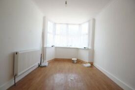 Newly refurbished two bedroomed ground floor flat with a private garden. Available Now.