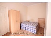 Large, furnished double room available now in spacious flat. Close to Willesden Green NW2, zone two.