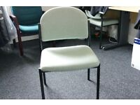 Green Reception chairs. ** 10 Available **