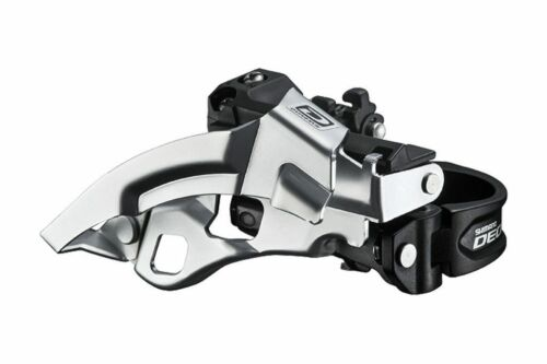 New Shimano Deore Front Derailleur FD-M610 3X10 Dual Pull 34.9 Dynasys 10sp