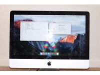 "iMac 21.5"" 4 or 8 GB RAM, i5 2.5GHz, 500GB HDD, Office software"