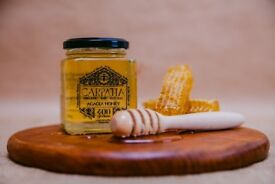 100% Organic honey, raw, natural- Acacia honey