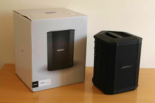 Bose S1 Pro Portable PA System PA S1-Pro S1PRO w/ Battery Already Installed USED