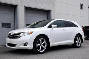 2013 Toyota Venza V6 PREMIUM TOIT PANO MAGS CUIR ONE OWNER LOW K
