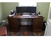 Bespoke designer wooden desk