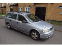 2001 Vauxhall Astra 1.4 16V Estate *** FRONT SCREEN CRACKED *** for spares or parts