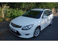 61 Hyundai I30 1.6 Diesel, 1 Owner from New, 0 Previous keepers, 12 Months MOT, HPI Clear