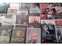 """Over 100 dvd""""s for sale in"""
