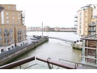 @ Dunbar Wharf - Stunning two bedroom apartment with amazing River Views - Narrow Street Location!