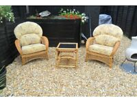 Conservatory Furniture Set EVERYTHING HAS BEEN CLEANED-PICK UP GOSPORT PO12