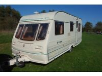 Avondale Millennium 5 berth caravan 2000 excellent condition with awning and extras
