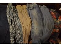 trousers and jeggins bundle size 10 and 12