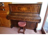 Upright Piano by John Spencer & Co.