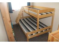 Triple Bunk Bed - Double and Single - Only used for Guests - Complete with Matresses