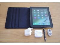 Apple iPad 4 4th Generation 32GB Wi-Fi 9.7in A1458 bundle