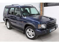 LANDROVER DISCOVERY 2 2.5L TD4 5 DOOR ** NATIONWIDE WARRANTY ** 100% HPI CLEAR ** SERVICE HISTORY