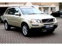 VOLVO XC90 2.4D5 SE LUXURY AUTOMATIC 5DR FSH HPI CLEAR 2 KEYS EXCELLENT CONDITION