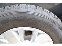 Brand New 16'' Alloy Wheel VW Transporter