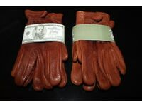 Grifter Scoundrels leather motorcycle gloves
