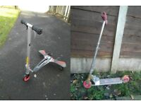 2 kids scooters (can be delivered)