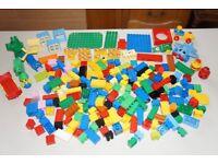 LEGO DUPLO MIXED LOT PARTS PIECES BRICKS