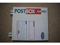 Postal Boxes. C98 self assembley cardboard Mailing boxes x5