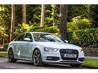 Audi A4 1.8 TFSI Black Edition Saloon, Full Leather - Ext. Warranty 2019, Full Audi Service History