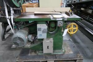 JACKSON, COCHRANE AND CO. Table Saw