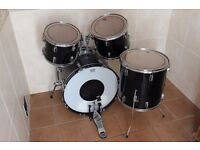 Premier Olympic Drum kit with Pinstripe Heads