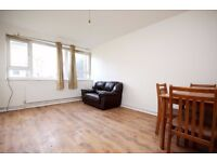 spacious one bedroom flat with direct garden access