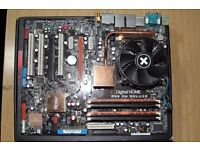 ASUS P5W DH Deluxe Used Good Condition