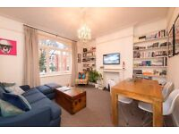 Beautiful unfurnished two bedroom raised ground floor flat on a quiet street of Maida Vale W9