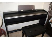 Casio Privia PX-730 Digital Piano With leather Stool