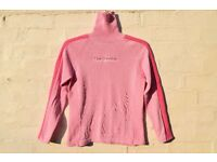 The Realm 10 Ladies Pink Roll Neck Knitted Style Jumper C36""