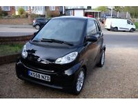 Smart MHD PAssion Fortwo - Leather heated Seats - Black - Stop/Start - Aircon