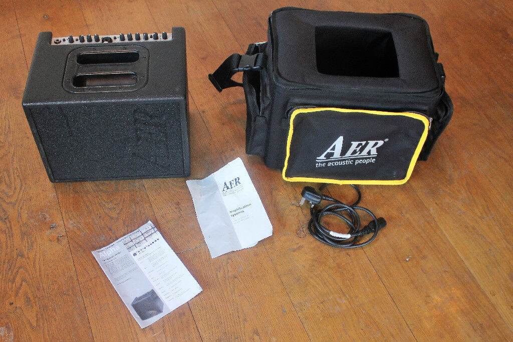 AER Compact 60 acoustic amp version 2