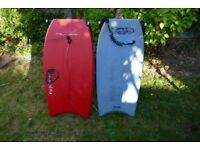 2 Bodyboards 15 pounds for the pair.