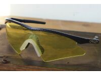 b6bdeeae633b Vintage 1990s OAKLEY Sunglasses. M Frame. USA made. PLUS  spare interchangeable Lens
