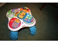 Fisher Price. Laugh & learn fun with friends musical and activity table