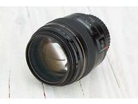 Canon 85mm f1.8 USM portrait lens