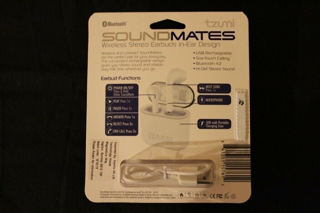TZUMI SOUND MATES WIRELESS BLUETOOTH EARBUDS | in Bolton, Manchester |  Gumtree