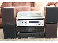 Mixed stack system with speakers