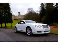 Prestige Car hire Bentleys GT Flying Spur BMW self hire chauffeur service