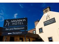 The Adamson hotel, Crossford is recuiting for experienced chef
