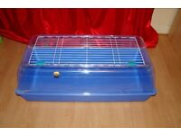 ZOOZONE 2 PLASTIC CAGE GUINEA PIG / RABBIT / RAT 100 CM LONG - 3 TO CHOOSE
