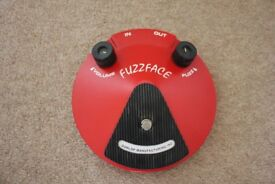 Dunlop Fuzz Face Distortion Pedal - Excellent Condition
