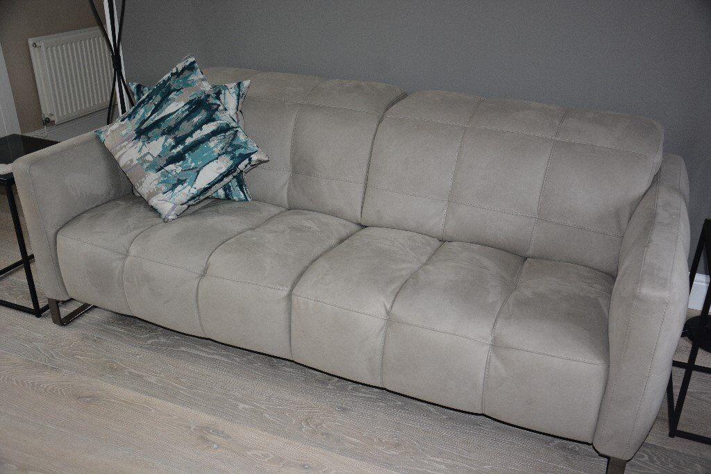 Two Large Natuzzi Sofas Philo Design