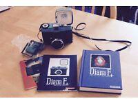 Lomography Diana F+ Camera - 120 film