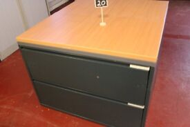 Office filing cabinets with 2 drawers ONLY £20 PER EACH