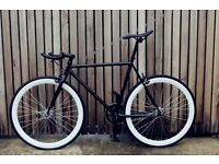 Special offer!!Steel Frame Single speed road bike track bike fixed gear racing fixie bicycle awk